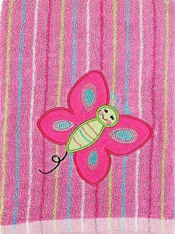 Koala Baby Super Towel Pink Butterfly - 1