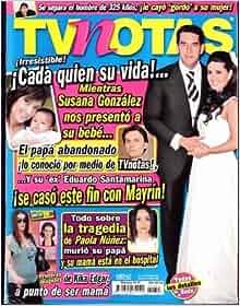 TVnotal 2009 Marzo 3 - Fernanda Lopez: poster + 3 pages: TV: Amazon
