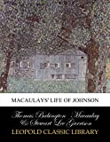 img - for Macaulays' Life of Johnson book / textbook / text book