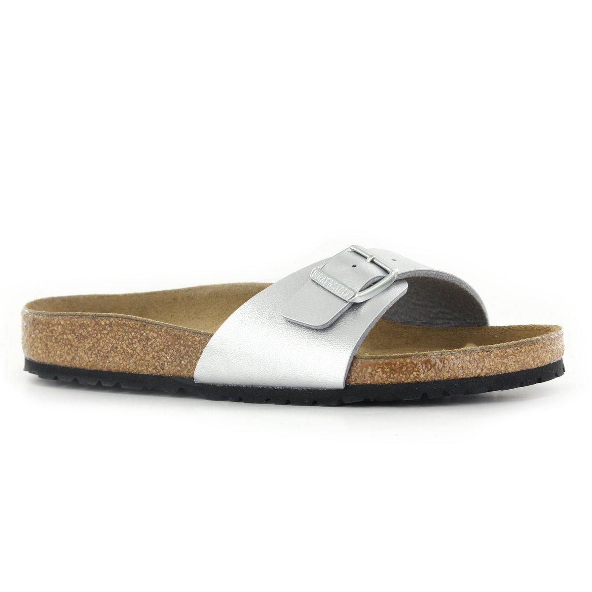 galleon birkenstock madrid silver womens sandals 40 eu. Black Bedroom Furniture Sets. Home Design Ideas