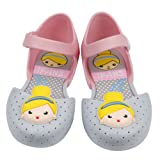 iFANS Girls Cute Princess Jelly Shoes Mary Jane Flats for Toddler Little Kids,Blue,10 M US Toddler (Color: Blue, Tamaño: USA13 (EUR29))
