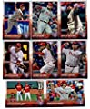 2015 Topps Series 1, 2 and Update Master Philadelphia Phillies Baseball Cards Team Set of 31 Cards including Chase Utley, Ryan Howard, Mikeal Franco Rookie Card, Herrera RC, Sean O'Sullivan, Elvis Araujo, Aaron Harang, Severino Gonzalez, Jeff Francoeur, A