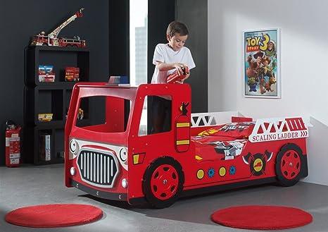 Smartbed - Lit Camion Pompier Scft201 Smart Bed 90 X 200