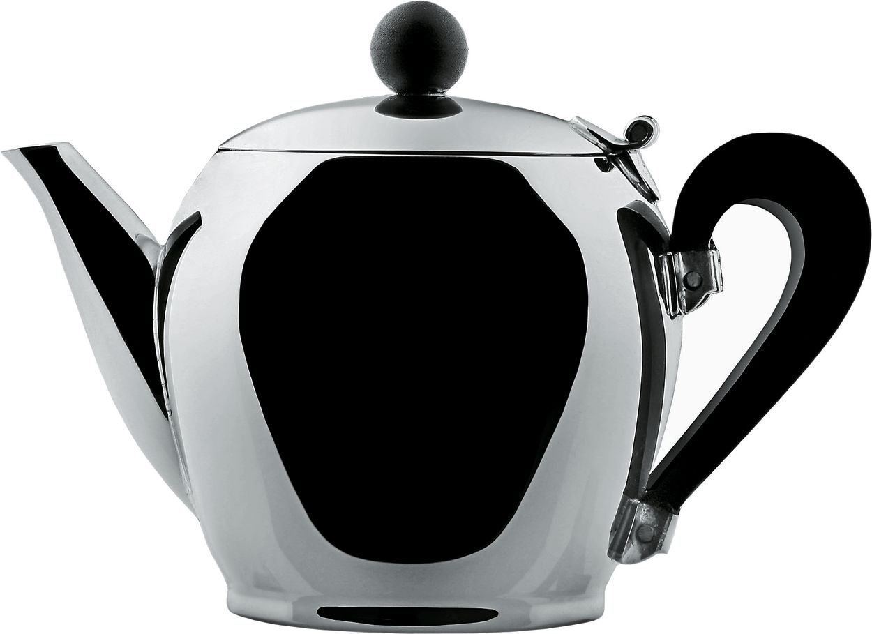 Bombe 2-qt. Teapot Finish: Stainless Steel alessi