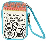 Natural Life Everyday Cosmetic Bag, Bicycle