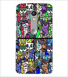 PrintDhaba Graffiti D-4759 Back Case Cover for MOTOROLA MOTO X PLAY (Multi-Coloured)