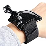 WRIST STRAP BAND MOUNT FOR GOPRO HERO 2 HERO3 HERO3+ ACTION CAMERAS - MUST HAVE GO PRO ACCESSORY