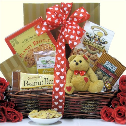 Nuts About You!: Valentine's Day Gift Basket