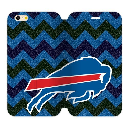 Mmhdiy Wavy Buffalo Bills Mark Case Cover For Iphone6 Plus 5.5 )Two Sides