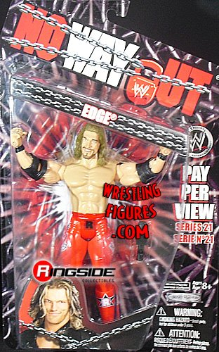 WWE Wrestling PPV Pay Per View Series 21 Action Figure Edge