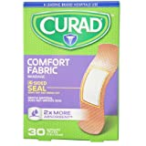 Curad Comfort Fabric Bandages .75 x 3 Inches 30 Each