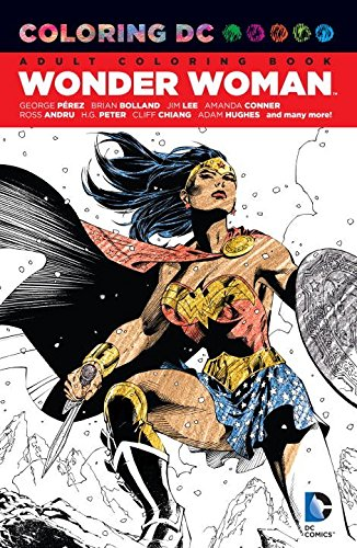 Comic Related Adult Coloring Books - Statue Forum