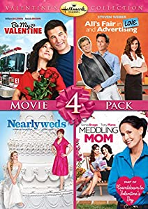 Hallmark Valentine's Day Quad (All's Fair in Love and Advertising, Be My Valentine, Meddling Mom, Nearlyweds) by Hallmark
