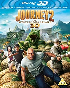 Journey 2: The Mysterious Island (Blu-ray 3D + Blu-ray + UV Copy) [Region Free]
