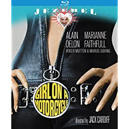 Girl On a Motorcycle: Remastered Edition [Blu-ray]
