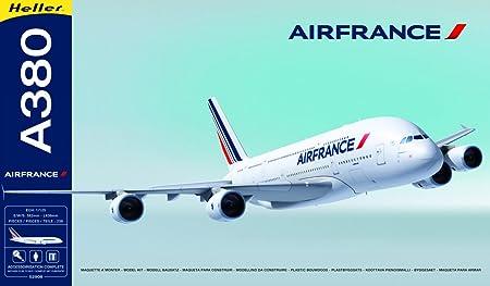 Heller - 52908 - Maquette - Avion - A380 Air France - Echelle 1/125