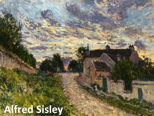 468 Color Paintings of Alfred Sisley - British Impressionist Landscape Painter (October 30, 1839 - January 29, 1899) (British Impressionism compare prices)