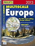 Philip's Philip's Multiscale Europe 2013: Spiral A3 (Road Atlas)