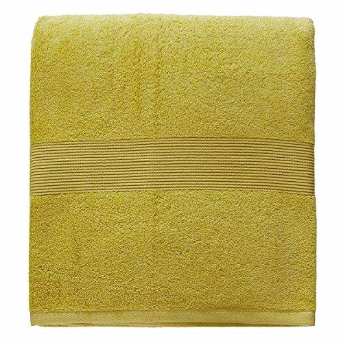 Telo bagno Zucchi Solotuo 90x180 cm in Spugna di Puro cotone 560 gr/mq N153 LIME