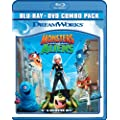 Monsters Vs Aliens (Blu-ray + DVD) (Bilingual) [Import]