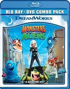 Monsters Vs Aliens (Blu-ray + DVD) (Bilingual) [Import]