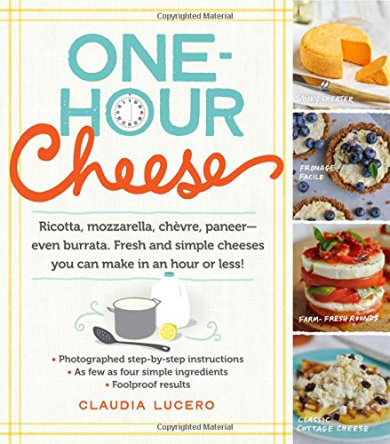 One-Hour Cheese: 16 Fresh and Simple Cheeses You Can Make in Your Kitchen