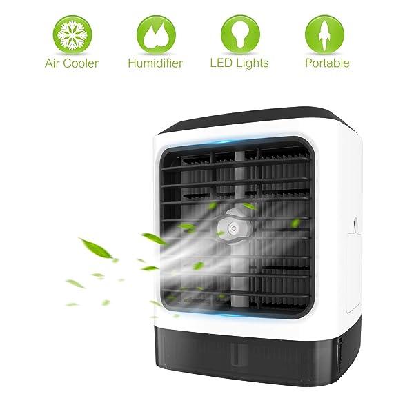 Portable Air Conditioner Fan 4 In 1 Personal Evaporative Air
