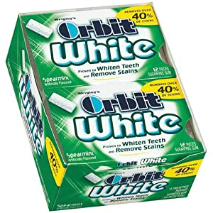 Orbit White Spearmint Card 12 Pack Box