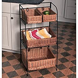 The Seasoning Products Sale Fruit Basket Floor Standing 3