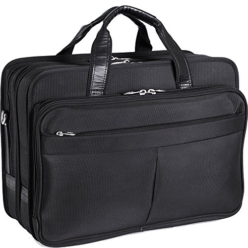 McKlein-USA-Walton-Nylon-17-Expandable-Laptop-Case