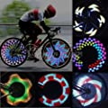 32 LED Cycling Bikes Bicycles Motorcycle Rainbow Wheel Signal Tire Tyre Spoke Light FamilyMall