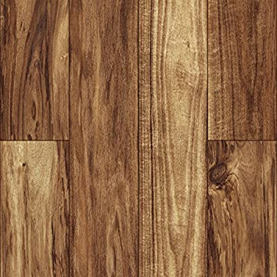 "American Concepts DR04 Dalton Ridge Piedmont Acacia Long Laminate Flooring Planks, 20.99 sq. ft. Per Carton (12 Pack), 8mm x 4.96"" x 50.79"", True Brown Light Accents"