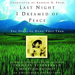 Last Night I Dreamed of Peace Audiobook