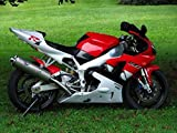 Red Black White Complete Body Kit Fairing Injection for 1998-1999 Yamaha YZF R1