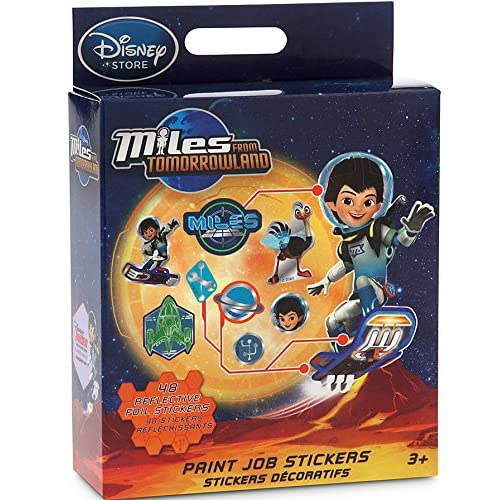 Disney Junior Miles From Tomorrowland Miles From Tomorrowland Stickers Paint Job