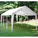 King Canopy Titan 10 x 20 ft. Canopy Replacement Cover Only - White - PTCL1020FR6