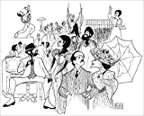 RAGTIME, Hand Signed by AL HIRSCHFELD, Limited Edition Lithograph, Brian Stokes Mitchell, Judy Kaye, Jim Corti, Lynette Perry, Mark Jacoby, Marin Mazzie, Peter Friedman, Lea Michele, and Audra McDonald