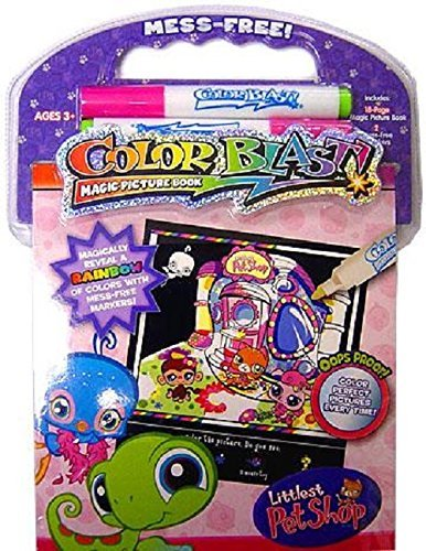 Giddy-up Littlest Pet Shop Color Blast Activity Book