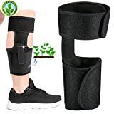 Ankle Holster for Concealed Carry Universal Leg Carry Pistol Gun Holster, Pistol Holster for Leg Fits Glock Ruger etc, Concealment Gun Holster for Con