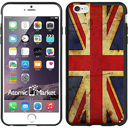 IP6+ British Flag Union Jack Grunge Iphone 6 Plus 5.5 Inch Case Cover (Iphone 6 Plus Case British compare prices)