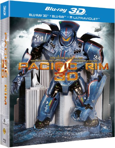 Pacific Rim - Limited Edition Robot Pack (Amazon.co.uk Exclusive) [Blu-ray 3D + Blu-ray + UV Copy] [2013] [Region Free]