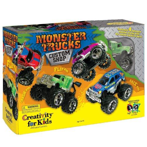 Creativity For Kids Monster Trucks Custom Shop front-778042