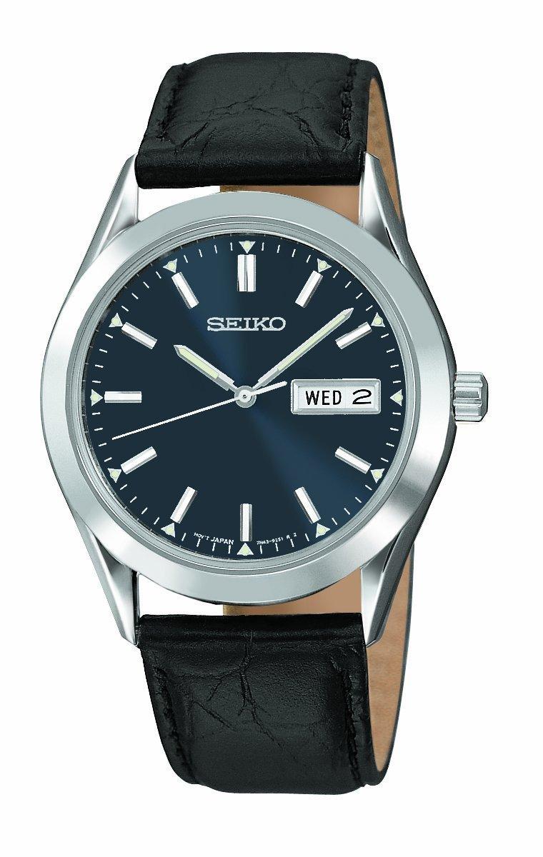 Đồng hồ nam chính hãng Seiko Mens SNA695 Alarm Chronograph Silver-Tone Watch