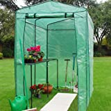 Kingfisher Large Walk In Greenhouse - Heavy Duty Plant House - Protective Cover