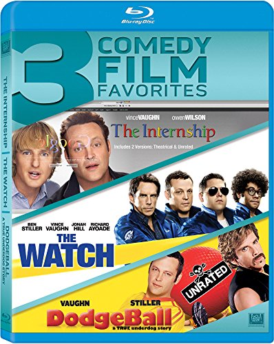 Vince Vaughn Triple Feature (The Internship / The Watch / Dodgeball: A True Underdog Story) [Blu-ray]