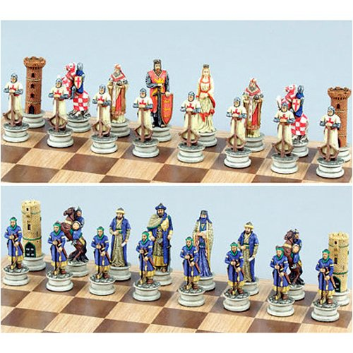 Crusades Theme Chessmen III