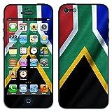 """atFoliX Designfolie """"S�dafrika Flagge"""" f�r Apple iPhone 5 - ohne Displayschutzfolievon """"Designfolien@FoliX"""""""