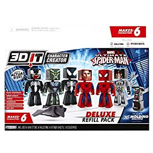 Buy 3d Character Creator Marvel Deluxe Refill Pack Novelty