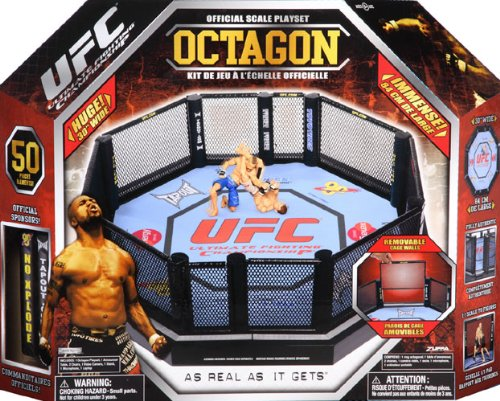 UFC Official Scale Deluxe Octagon Playset