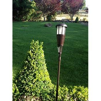 Lighting Solar Flickering LED Tiki Torches